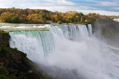 Photograph - Niagara Falls Drop by Michelle McPhillips