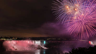 Photograph - Niagara Falls Fourth Of July by Brenda Jacobs