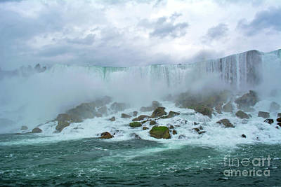 Photograph - Niagara Falls From The Boat by Third Eye Perspectives Photographic Fine Art