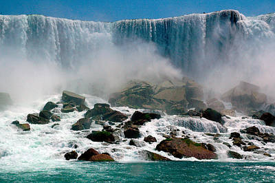 Photograph - Niagara Falls by Harry Spitz
