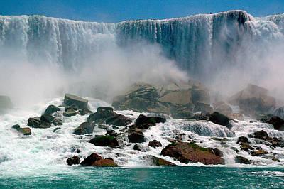 Open Impressionism California Desert - Niagara Falls by Harry Spitz
