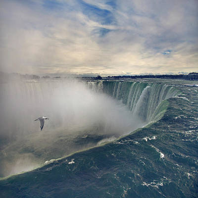People Photograph - Niagara Falls by Istvan Kadar Photography