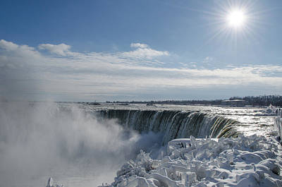 Photograph - Niagara Falls by James Petersen