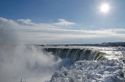 Photograph - Niagara Falls by James Petersen