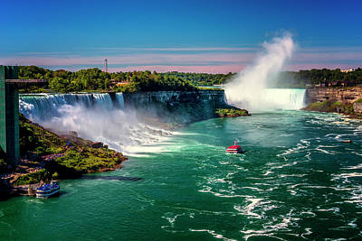 Photograph - Niagara Falls Maid Of The Mist_dsc8712_16 by Greg Kluempers
