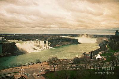Photograph - Niagara Falls by Mary Machare
