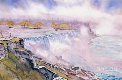 Painting - Niagara Falls by Melly Terpening