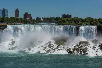 Photograph - Niagara Falls, New York by Brenda Jacobs