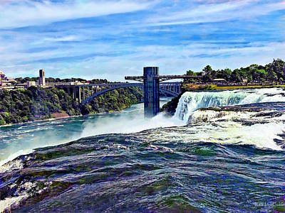 Photograph - Niagara Falls Ny - Prospect Point Observation Tower by Susan Savad