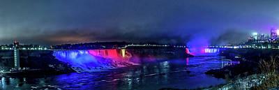 By Jackie Photograph - Niagara Falls Panoramic View by Jackie Sajewski