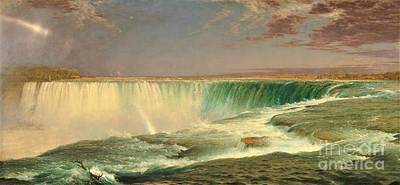 Painting - Niagara Falls by Pg Reproductions