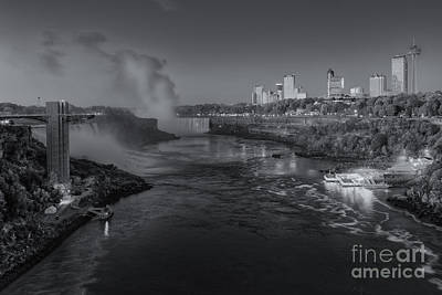 Photograph - Niagara Falls Pre-sunrise II by Clarence Holmes