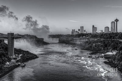 Photograph - Niagara Falls Pre-sunrise Iv by Clarence Holmes