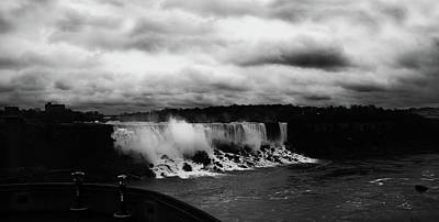 Photograph - Niagara Falls - Small Falls by JGracey Stinson