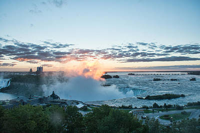 Photograph - Niagara Falls Sunrise by John Black