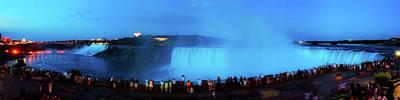 Photograph - Niagara Falls Sunset Panorama by Pixabay