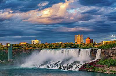 Photograph - Niagara Falls - The American Side 3 by Steve Harrington
