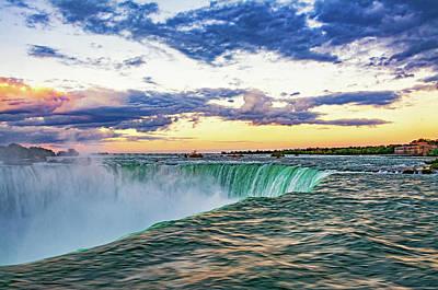 Photograph - Niagara Falls - The Brink 2 by Steve Harrington