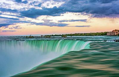 Photograph - Niagara Falls - The Brink by Steve Harrington