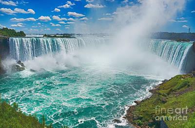 Photograph - Niagara Falls by Traci Law