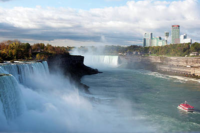 Photograph - Niagara Falls View by Michelle McPhillips