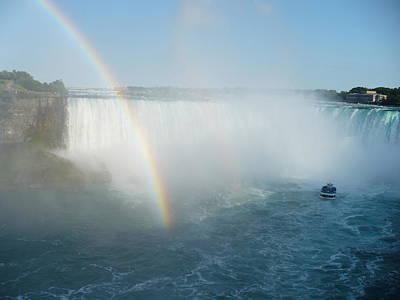 Arc-en-ciel Photograph - Niagara Falls2 by Richard Cloutier