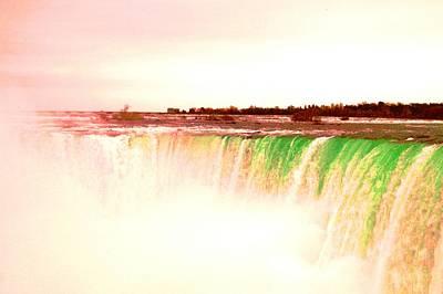 Photograph - Niagara Falls...inside The Horseshoe   by Daniel Thompson