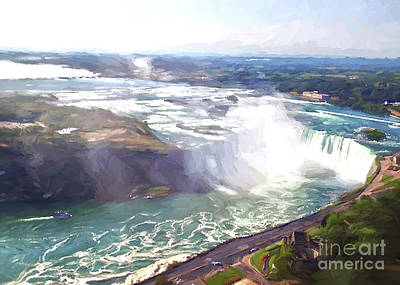 Photograph - Niagara Horseshoe Falls by Luther Fine Art