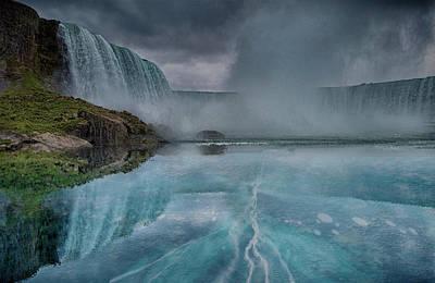 Niagara Ice Print by Martin Newman