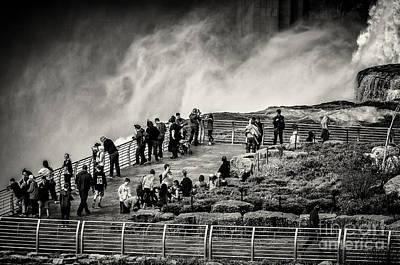 Photograph - Luna Island by Arne Hansen