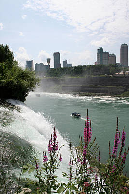 Photograph - Niagara Mist by Dylan Punke