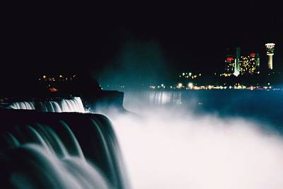 Photograph - Niagara Night by DJ Florek
