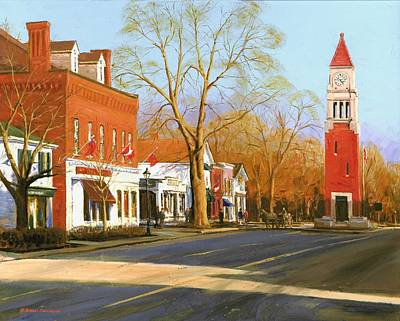 Painting - Niagara On The Lake by Michael Swanson