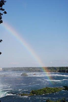 Photograph - Niagara Rainbow by Renee Holder