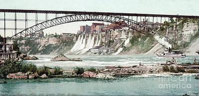 Photograph - Niagara River, C1900.  by Granger