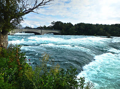 Photograph - Niagara River by Judy Hall-Folde