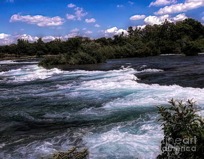 Photograph - Niagara River Rapids by Luther Fine Art