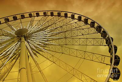Photograph - Niagara Skywheel by Teresa Zieba