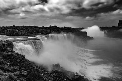 Art Print featuring the photograph Niagra Falls by Jason Moynihan