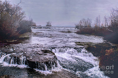 Photograph - Niagra by Sandy Moulder