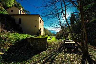 Park Portofino Italy Photograph - Niasca Hermitage I Portofino Park Passeggiate A Levante by Enrico Pelos