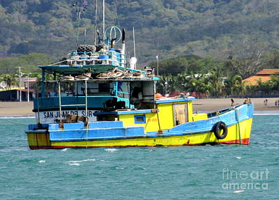 Photograph - Nicaragua Boat 1 by Randall Weidner