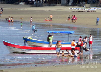 Photograph - Nicaragua Boats 9 by Randall Weidner