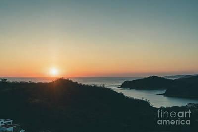 Photograph - Nicaragua Sunset 4/14 by Mark Brennan