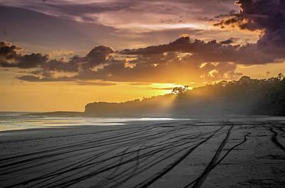 Photograph - Nicaraguan Sunset by Cameron Howard