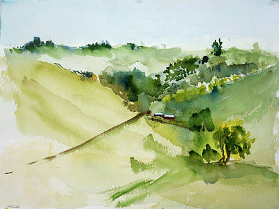 Painting - Nicasio Ranch by Tom Simmons