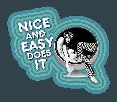 Counterculture Digital Art - Nice And Easy Does It by David Richardson