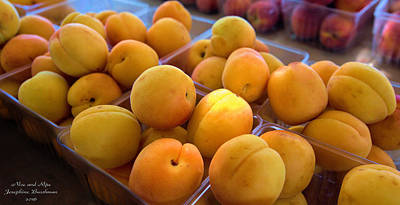 Photograph - Nice And Ripe Apricots   5108 by Josephine Buschman