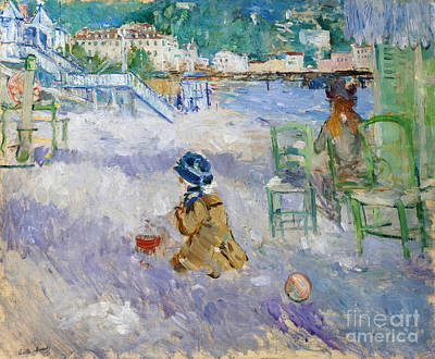 Nice France Painting - Nice  by Celestial Images