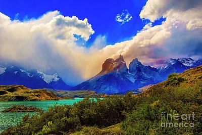 Photograph - Nice Clouds by Rick Bragan